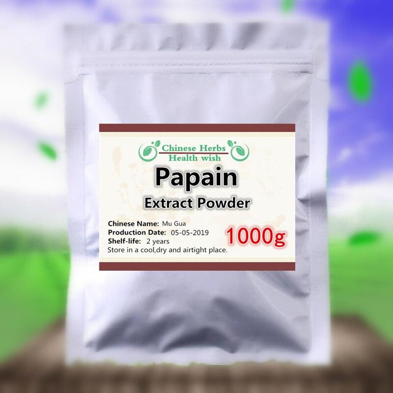 [Enzyme Digestive naturelle] 1000g extrait de papaye poudre de papaïne, patte de mouton, Mu Gua, Anti-Cancer, tumeur, leucémie lymphatique