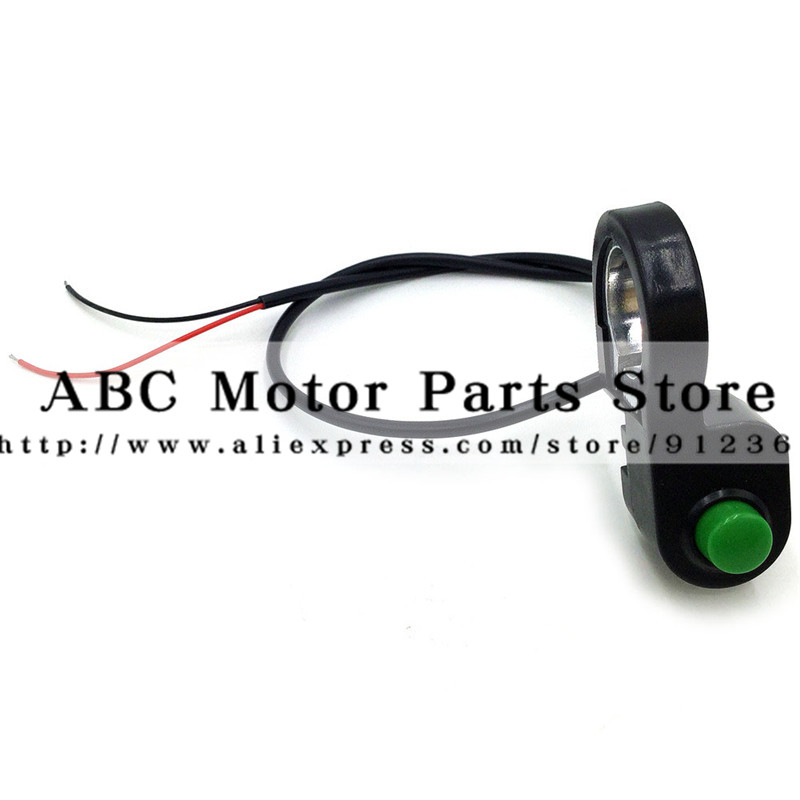 Electric Bike Light Button Switch Electric Scooter Horn Button Switch Electric Switch For Headlight Or Horn Wuxing Button Swicth