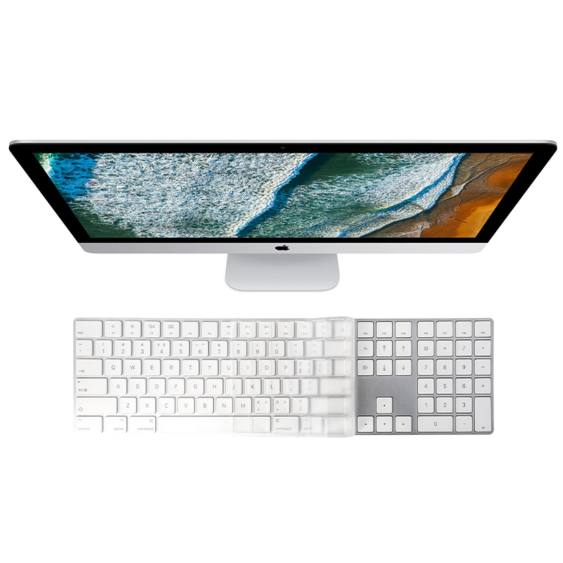Saco Chiclet Keyboard Skin for HP 15-d004TU Notebook/ Transparent