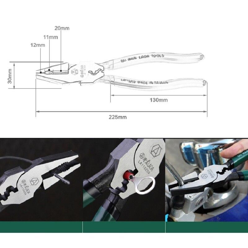 """""""LAOA 9"""" daugiafunkciniai CR-MO medžiagų jungiamieji replės, - Rankiniai įrankiai - Nuotrauka 2"""