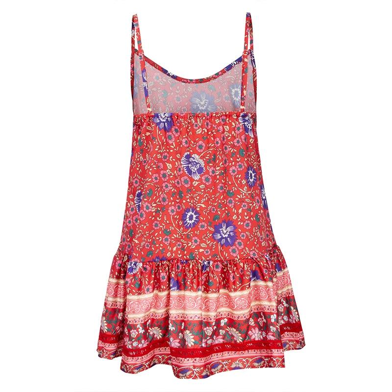 6 vieunsta vintage floral imprimir praia vestido de verão das mulheres novas com decote em v plissado uma linha de mini vestido elegante vestido plissado vestido de verão cinto - HTB1GDHSaOHrK1Rjy0Flq6AsaFXat - VIEUNSTA Vintage Floral Imprimir Praia Vestido de Verão Das Mulheres Novas Com Decote Em V Plissado Uma Linha de Mini Vestido Elegante Vestido Plissado Vestido de Verão Cinto