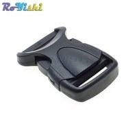 1000/pack 3/4 (20mm) Plastic Buckles for Paracord Bracelet Side Release Buckles Bag & Case Accessory Black