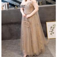 Laipelar dress Women Stripe Printing Sleeveless Off Shoulder Dress Evening Party Vest Sashes dress women