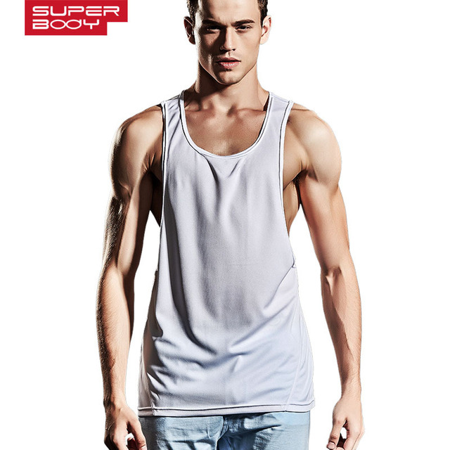 87eedc74c246e Men sexy tank tops mens bodybuilding fitness male Singlets Shirts Clothes Muscle  Vest Sleeveless O-neck Tank size XL