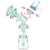 USB eléctrica Sacaleches Productos Manual de Extractores de leche de Alimentación Del Bebé Botella de Leche/Pezón Sacaleches