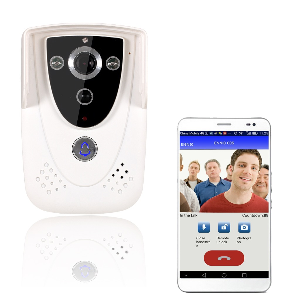Wireless WiFi  Kit Intercom Video Door Phone for Home Intercom DIY System IR RFID Camera eric tyson home buying kit for dummies