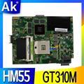 Для ASUS K52JV материнская плата для ноутбука Материнская плата Тест 100% ОК 1 ГБ HM55 GT310M REV 2 0