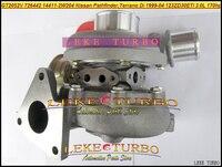 Turbo GT2052V 726442 726442-0001 726442-5004 S 14411 2W204 14411 2W20A Para NISSAN Pathfinder TERRANO DI ZD30ETi 3.0L ZD30 D 170HP