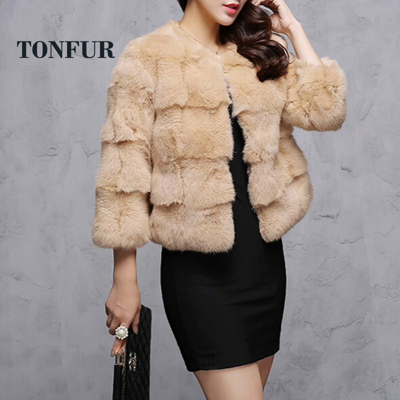 Online Get Cheap Rabbit Fur Coats Women -Aliexpress.com | Alibaba ...