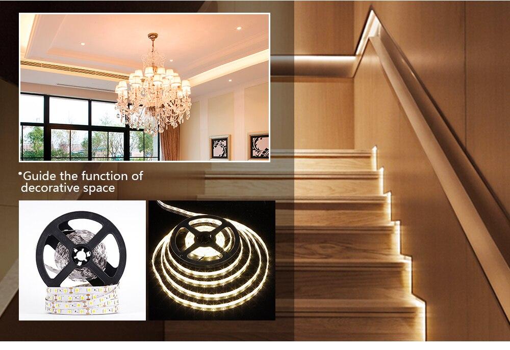 HTB1GDJfbyLrK1Rjy1zdq6ynnpXaH LUCKYLED 5M LED Strip 12v RGB Waterproof 5050 2835 SMD Diode RGB Tape Ribbon Flexible LED Light Strip 60leds/m LED Stripe