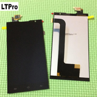 2016 Top Sale Test Working Black White LCD Display Touch Screen Digitizer Assembly For JIAYU F2