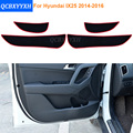 2 Cores de Carro-Styling Protetor de Borda Lateral Almofada de Proteção protegido anti-kick esteiras capa para hyundai ix25 porta 2014 2015 2016