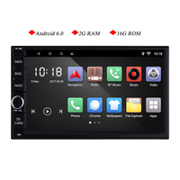 7 Inch 2g RAM Android 6 0 Car Tap PC Tablet 2 Din Universal For Nissan