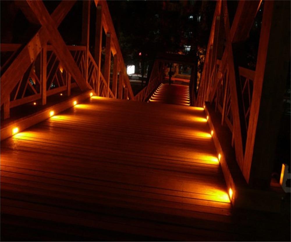 Luz da plataforma 12w luz à terra