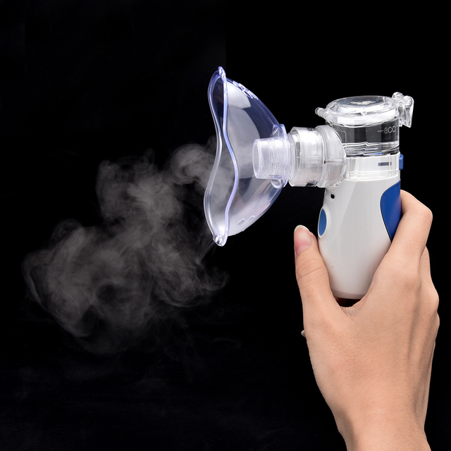 Portable Silent Ultrasonic Inhaler Nebulizer Rechargeable Medical Steaming Atomizer Mini Handheld Inhaler Nebulizer Healthy Care 1