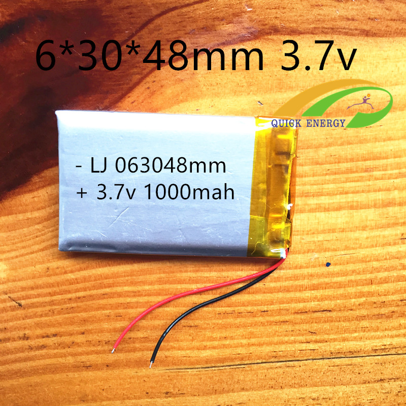 2pcs gps navigator digital photo frame lithium battery lighting polymer battery 603048