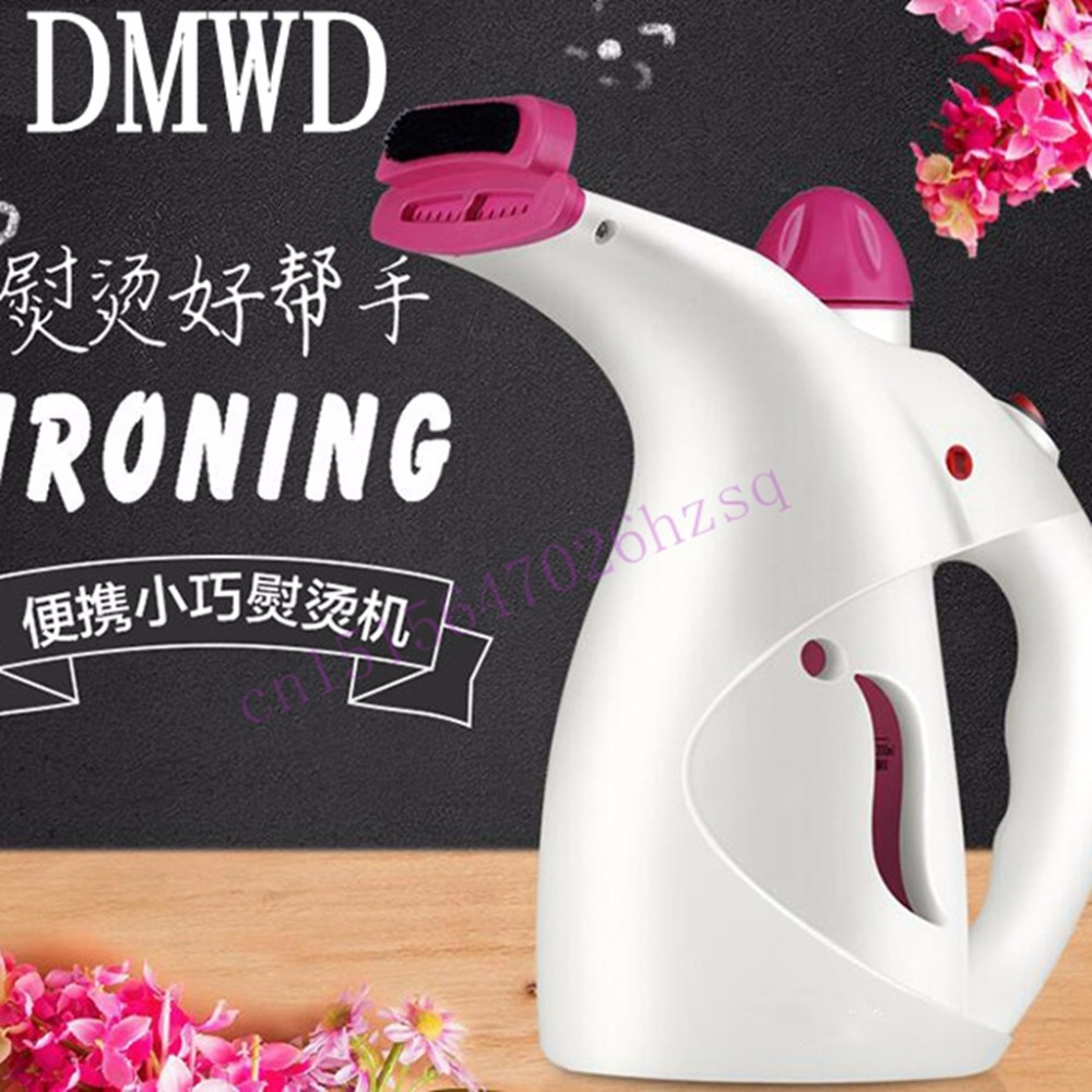 DMWD Hand held household hanging ironing machine mini clothes steam  electric iron Steam the face humidification Disinfection bear 220 v hand held electric blender multifunctional household grinding meat mincing juicer machine