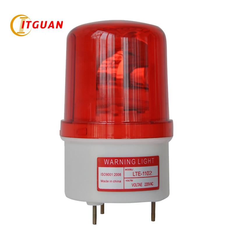 LTE-1102  Rotary Warning Lamp Strobe Light Beacon warning light with bolt bottom rotary warning light авто заз 1102 в украине
