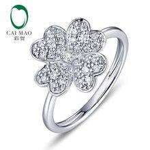 Caimao 026ctw натуральный круглый f vs бриллиант обручальное
