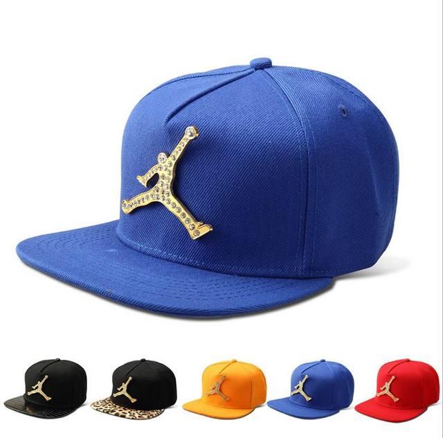 2016 18K Gold Plated Bling Bling Jordan Snapback Caps for Men Women High  Quality Boys Girls Cotton Hip Hop Hats HK-218 ee7c9d2d991