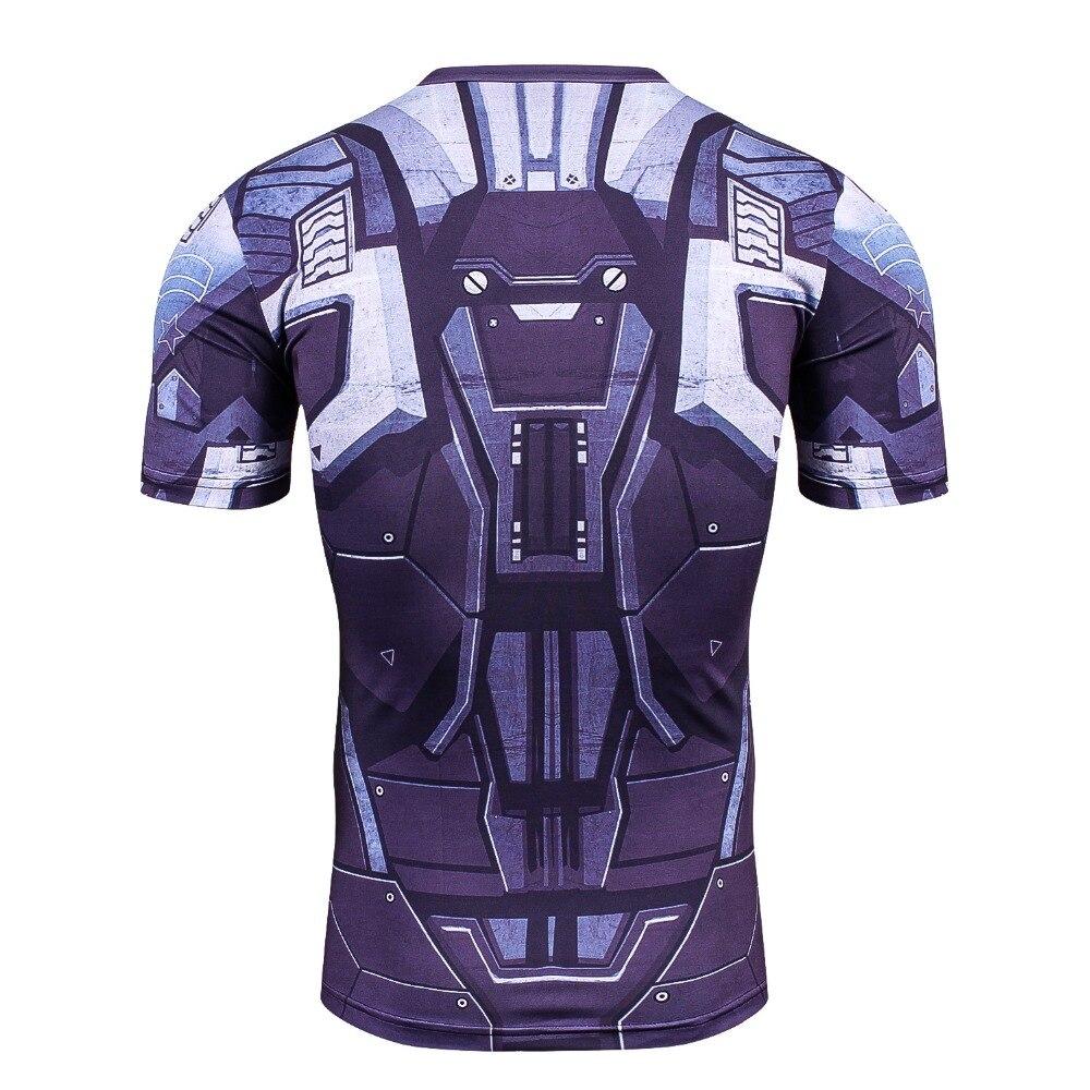 Newest Batman 3D PrintedT-Shirt Men  Compression Shirt 5