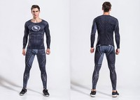 Super Hero Cosplay The Black Light Man Cosplay Fitness Suit Long Sleeve Set Cosplay Costume Fashion Figure Suit Drop Ship
