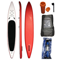 14x26x5.9 stand up paddle board inflatable sup board race inflatable surfboard isup race board 427*66*15cm