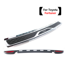 High Quality Plastic Rear bumper Protector Sill For Toyota Fortuner 2012,13,14,15