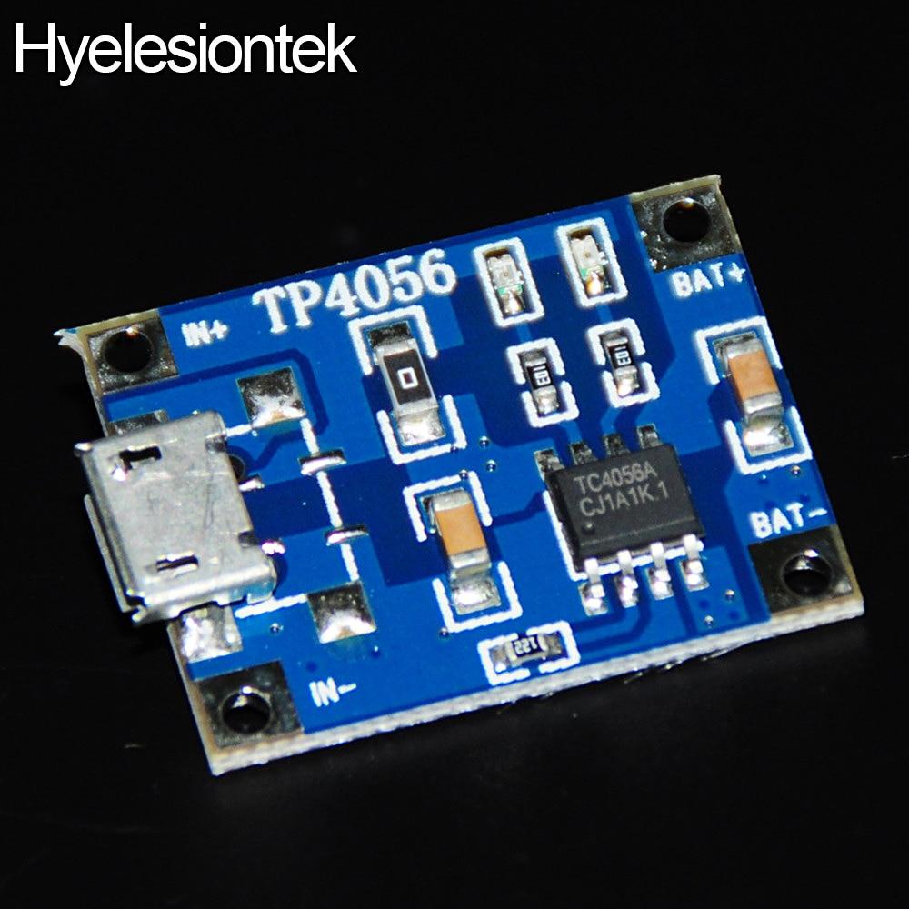 25pcs TP4056 For Arduino Nano 5V 1A Lithium Battery DIY Electronic Micro USB Convert Port Charging Board Module Lipo Charger