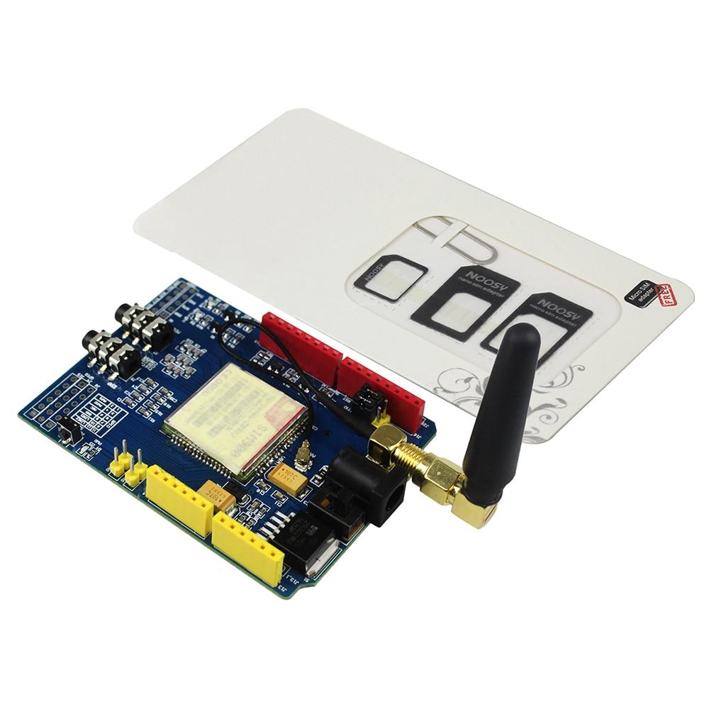 High Quality SIM900 GPRS GSM Shield Development Board Quad Band SIM900 Module SIM900 Board With Sim