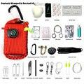 Открытый Аптечка Первой помощи Военной Полевой Набор Домашняя Аптечка Поле Survival Kit