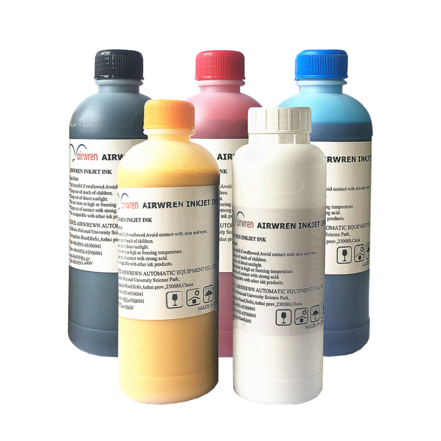 with low price textile ink for DTG printer direct to garment directly free shipping 10pcs ma3810