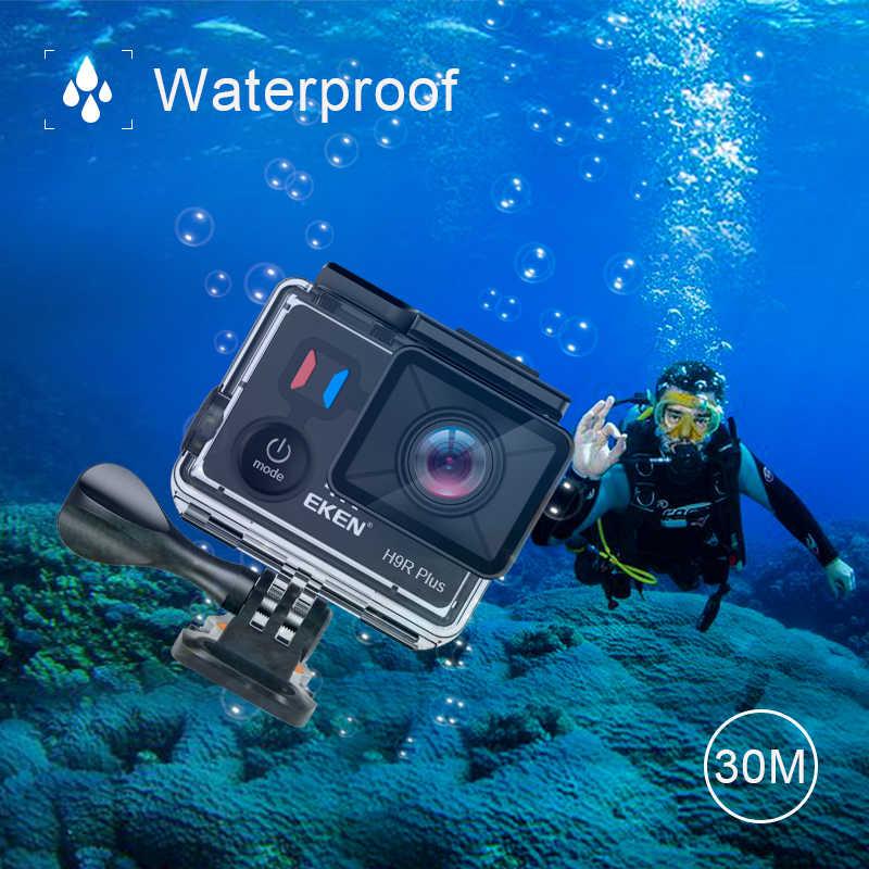 Экшн-камера eken H9R Plus Ultra HD 4K A12 4 k/30fps 1080 p/60fps для Panasonic 34112 14MP go Водонепроницаемая wifi Спортивная камера pro