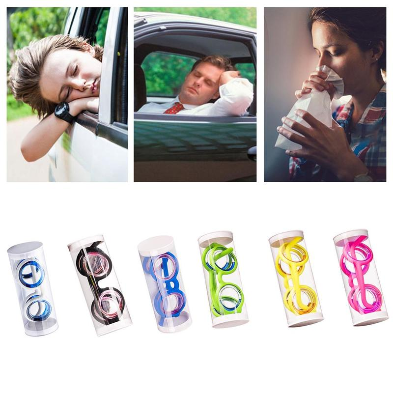 Anti-Motion Sickness Glasses Outdoor Travel Tool Sickness Glasses Carsickness Cure Your Motion Sickness in 10-12 Minutes