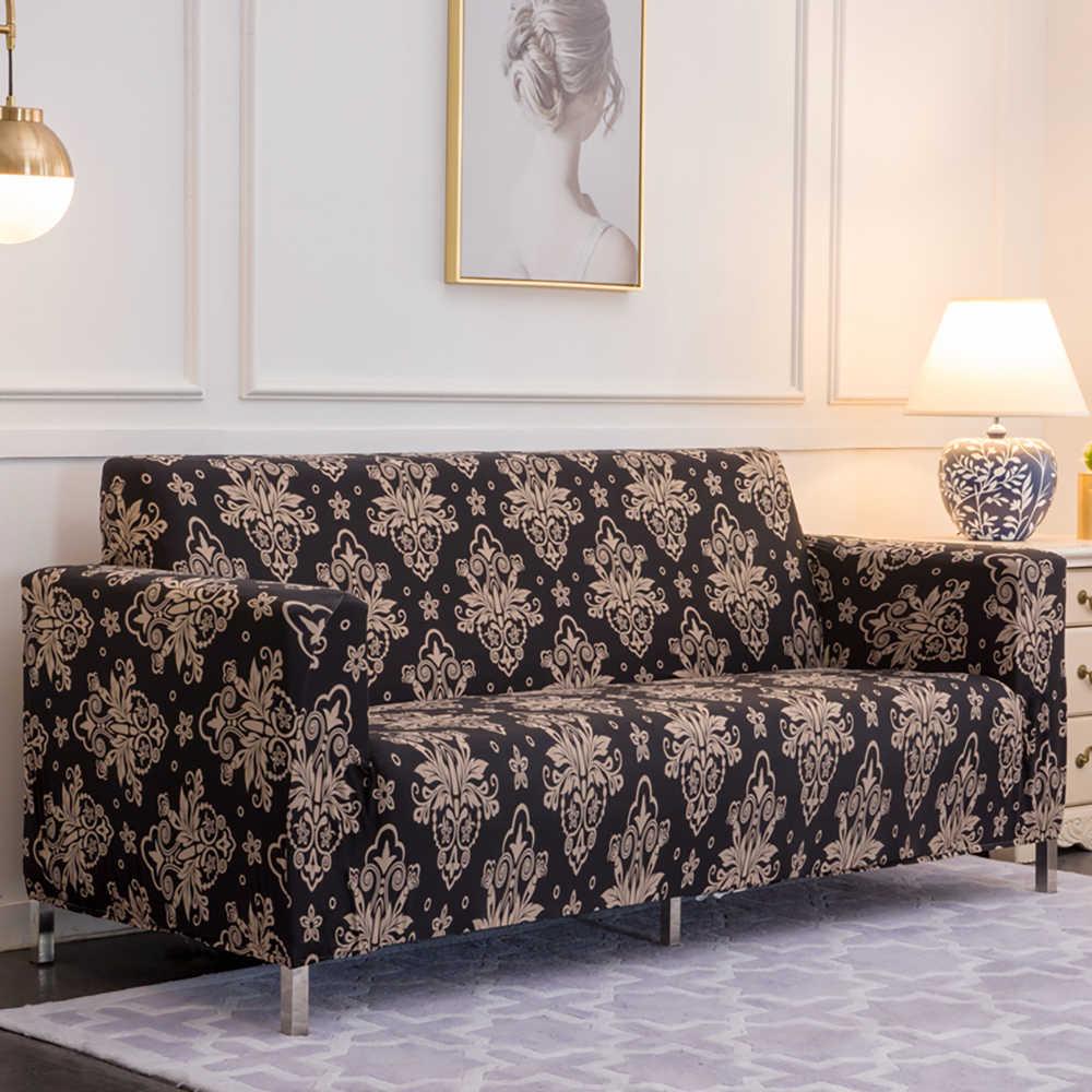 Elastic Sofa Cover Slipcovers L shape Sofa Covers For Living ...
