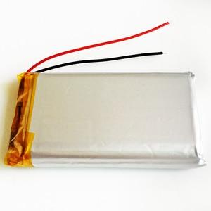 Image 5 - 10 pièces 3.7 V 3000 mAh 103565 polymère Lithium LiPo batterie Rechargeable pour GPS PSP DVD E book tablette PC chargeur portatif pour ordinateur portable