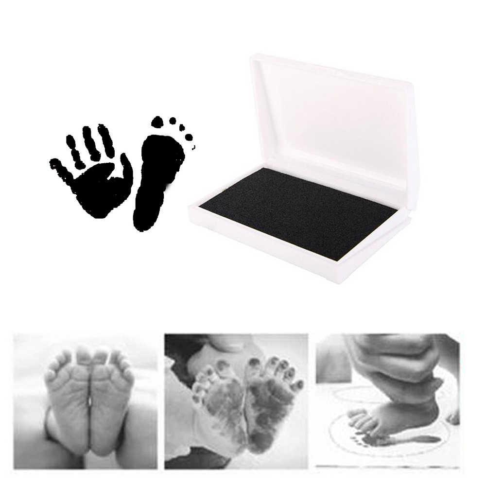 Empreinte de bébé empreinte Non toxique empreinte de nouveau-né empreinte de main filigrane Souvenirs pour nourrissons coulée argile jouets empreinte tampon d'encre