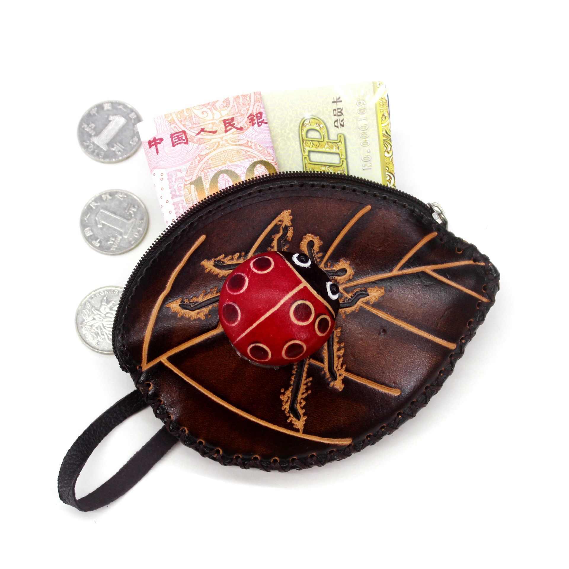 Bolsa de moedas de couro genuíno das mulheres carteiras e bolsas do sexo feminino moneys moedas sacos bolsa meninas titular do cartão senhoras mini folhas carteira