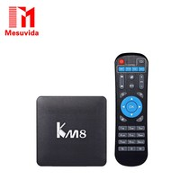 Genuine KM8 Pro Smart TV Box Android 6 0 TV Box Amlogic S912 Octa Core