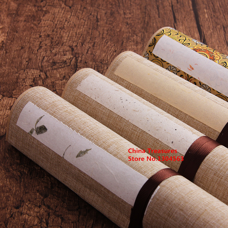 1 piece,Chinese Rice Paper Scroll with box Calligraphy Writing Xuan Paper Hand Scroll1 piece,Chinese Rice Paper Scroll with box Calligraphy Writing Xuan Paper Hand Scroll