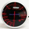 Frete Grátis: 60mm Defi Link Avançado BF Auto Meter Turbo Boost Lente Fumaça Auto Turbo Boost Medidor (branco/Vermelho Luz do LCD)