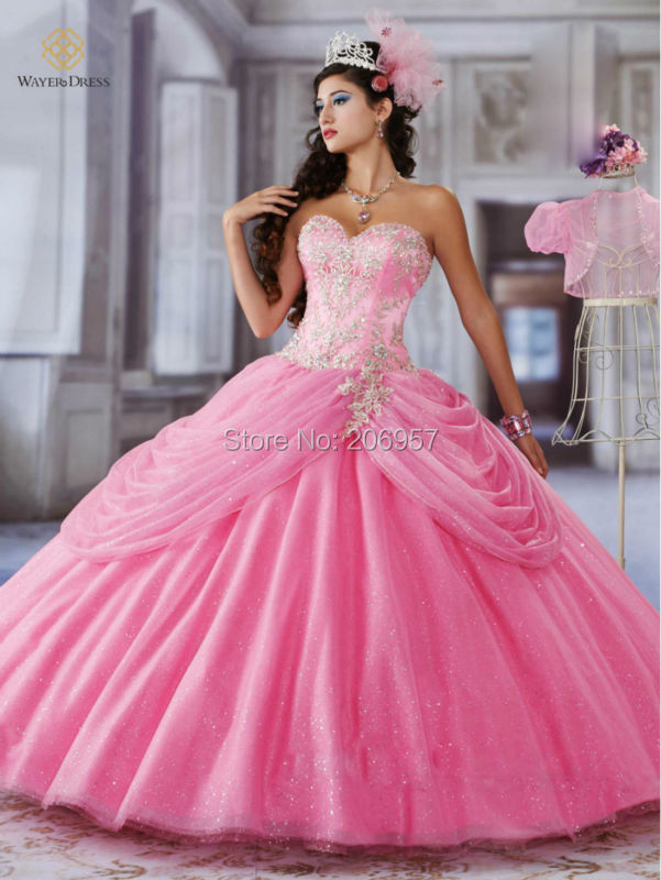 Chispa cristales bordado con cuentas de novia dulce 16 rosa / azul ...