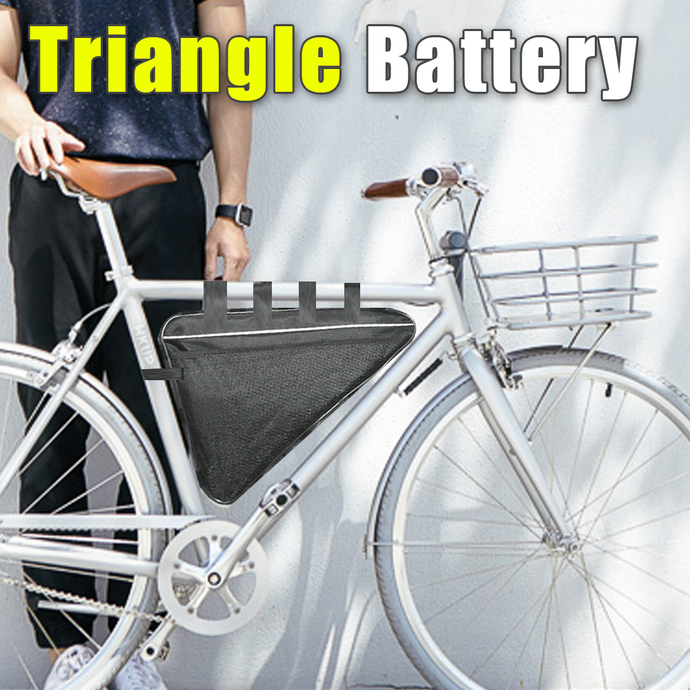48V Triangle lithium ion Battery Electric Bicycle battery bag 54.6v ebike Triangle battery pack 48v 34ah triangle lithium battery 48v ebike battery 48v 1000w li ion battery pack for electric bicycle for lg 18650 cell
