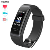 GT101 Fitness Tracker Watch TFT Color Screen Smart Wristband Smart Bracelet Fitness Tracker OLED Screen Heart