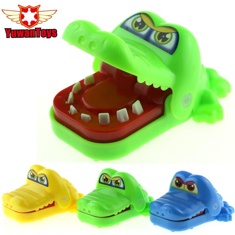 Large Crocodile Jokes Mouth Dentist Bite Finger Game Joke Fun Funny Crocodile Toy Antistress Gift Kids Child Family Prank