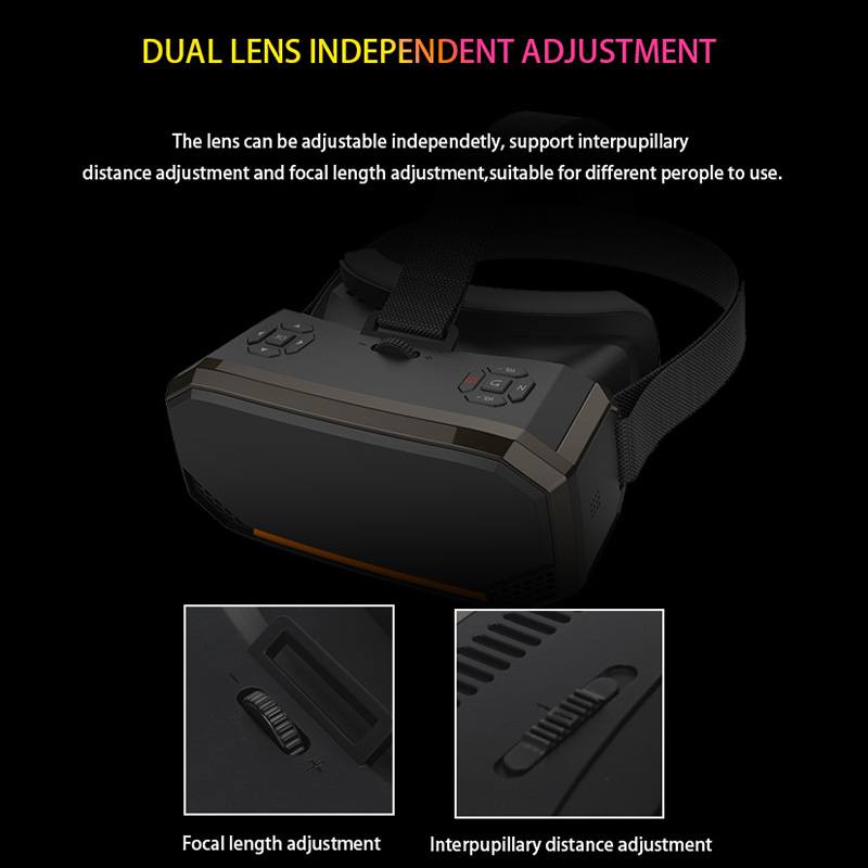 Image 5 - Sovawin H3 All in One VR Headset 3D Smart Glasses Virtual Reality Goggles VR Helmet 2K WIFI HDMI Video  with Controller-in 3D Glasses/ Virtual Reality Glasses from Consumer Electronics