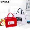 ONEUP PU кожаная сумка для обеда пакет для льда Ланч Органайзер сумки-контейнеры для хранения изоляционная сумка для риса с алюминиевой фольго...