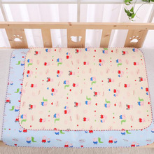 Viscose Fibre summer sleeping mat urine pad 80*60 double-sided usable waterproof leak-proof mot