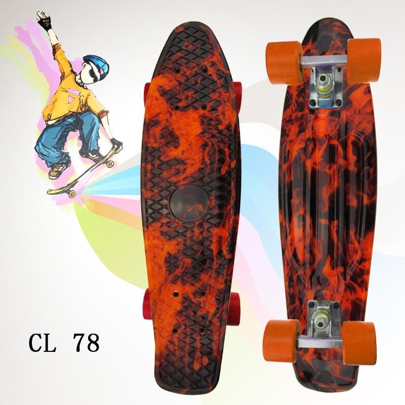 Image 3 - ミニクルーザー omplete スケートの四輪スケートボード大人 & 子供小さなスケートボード peny ボードバナナボード -    グループ上の スポーツ & エンターテイメント からの スケートボード の中