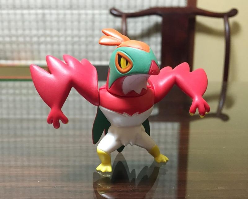 Limited! 8cm high Wrestling Eagle Pokemon Pikachu figure anime action figure toys for gift